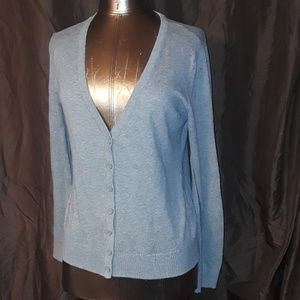 Forever 21 Button up Sweater Long sleeves in Gray